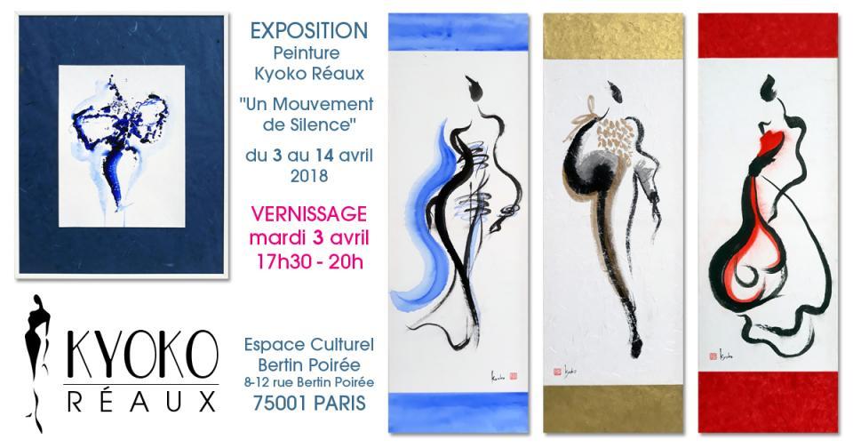 Kyoko Réaux - EXPOSITION de Peinture - Avril 2018